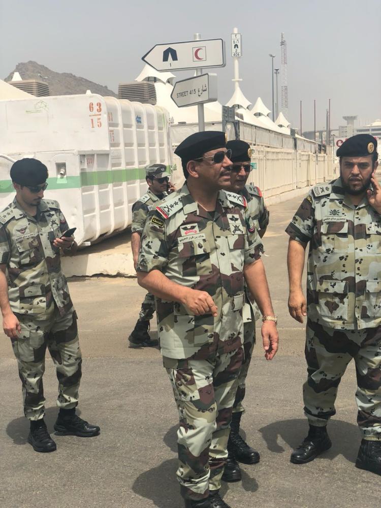 قائد قوات أمن الحج يقف على تجهيزات قوات الطوارئ الخاصة بـ المشاعر المقدسة أخبار السعودية صحيفة عكاظ