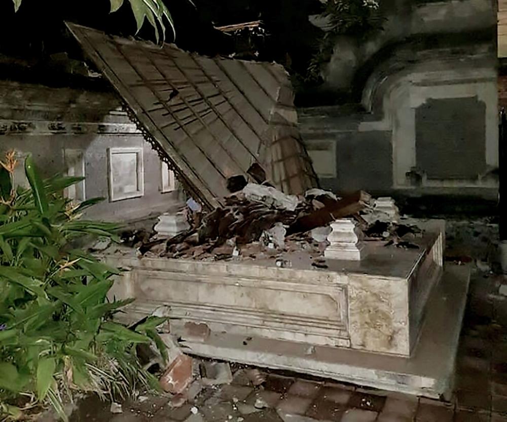 إندونيسيا: 37 قتيلا في زلزال لومبوك