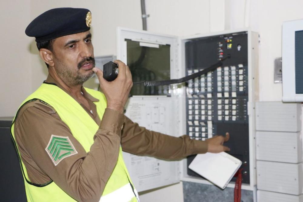 الدفاع المدني يتفقد أنظمة السلامة في منشآت إيواء الحجاج