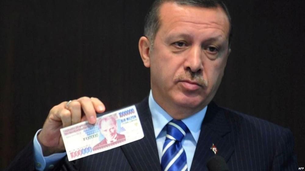 تصريحات أردوغان تخسف بالليرة التركية