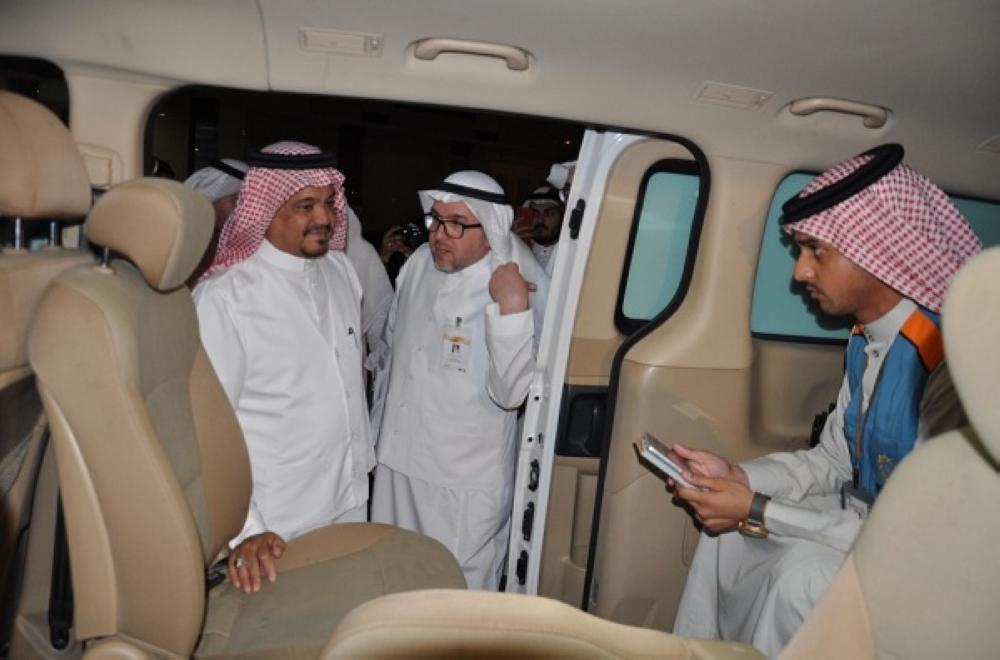 وزير الحج والعمرة أثناء الجولة التفقدية