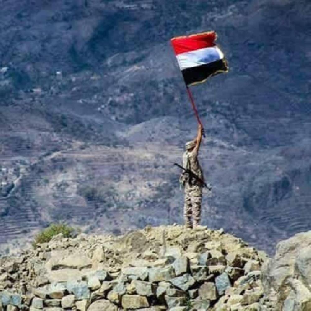 قائد عسكري يمني: الجيش يسيطر على أهم المرتفعات في جبال البياض الإستراتيجية