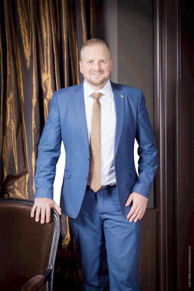 رئيس جمهورية ليبرلاند في أحدث صورة له.