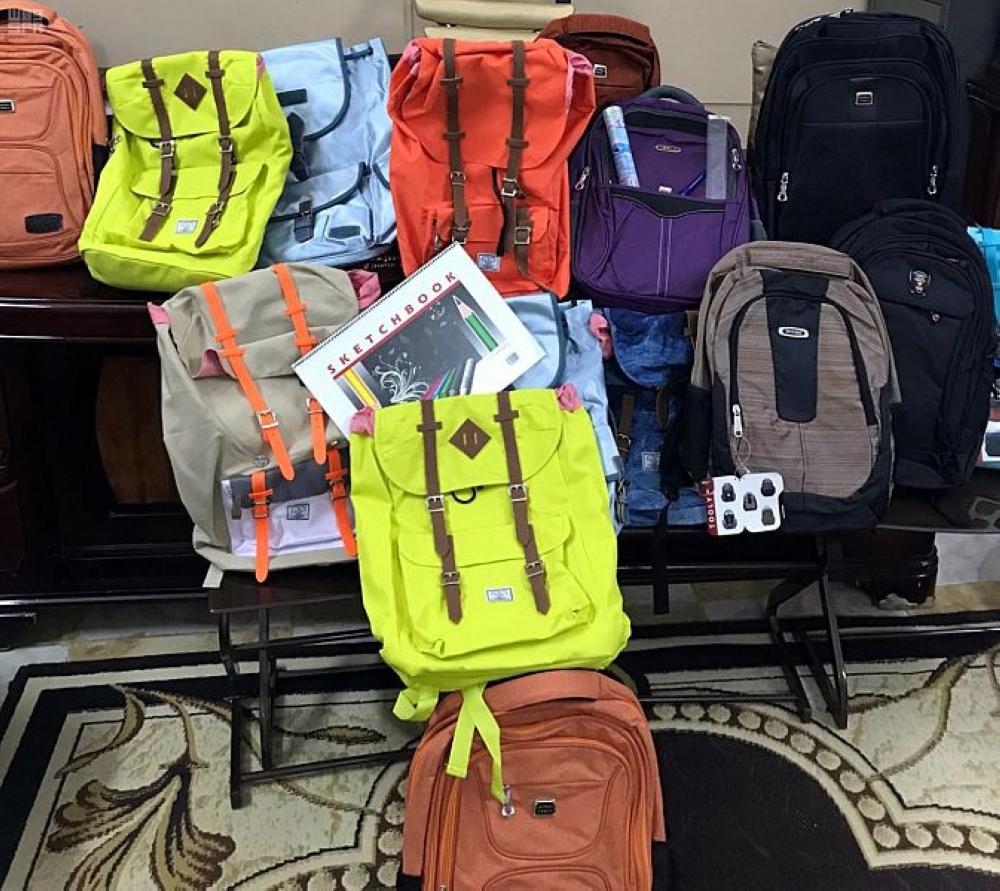 804e9297bb597 توزيع 1012 حقيبة مدرسية على الأيتام في بيش والحقو - أخبار السعودية ...
