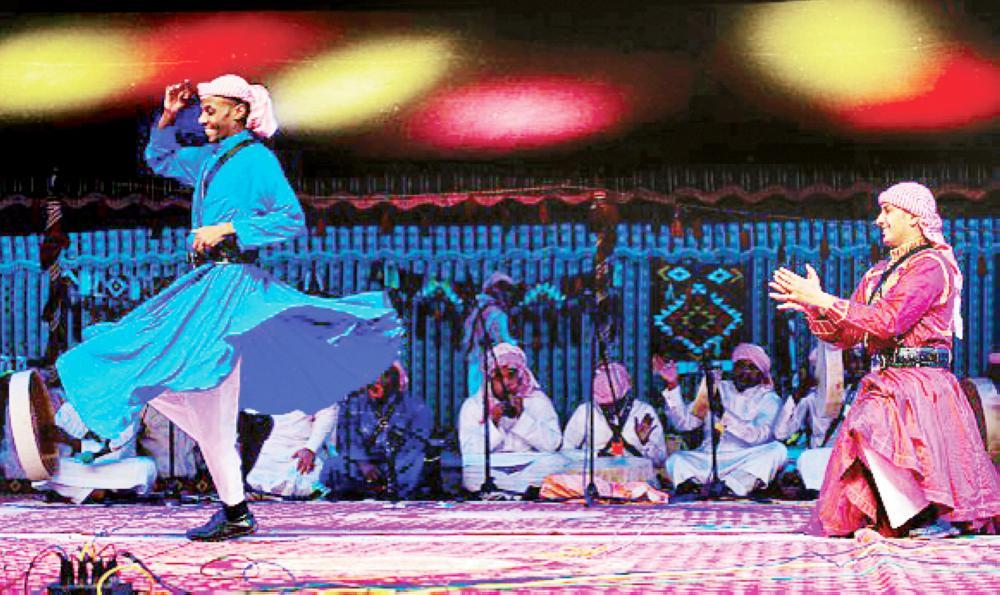 الرقصات الشعبية من أبرز صور التراث غير المادي.