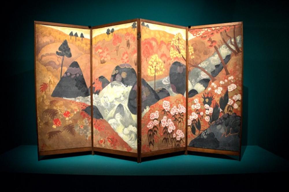 اللوفر أبوظبي يفتتح معرض «من وحي اليابان: رواد الفن الحديث»