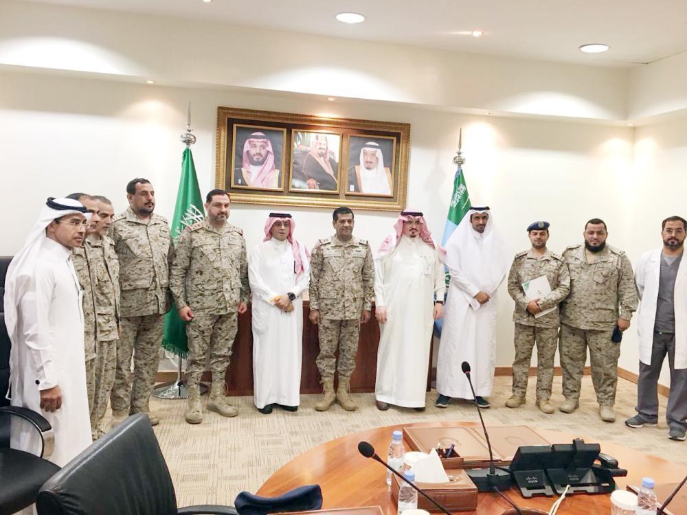تعاون بين قاعدة الملك سلمان الجوية و«الأمل»
