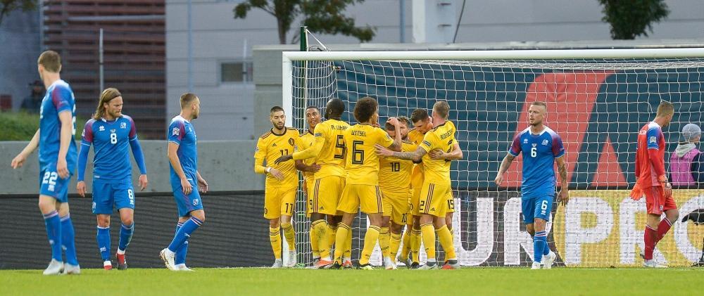 لوكاكو يقود بلجيكا لانتصار كبير على إيسلندا