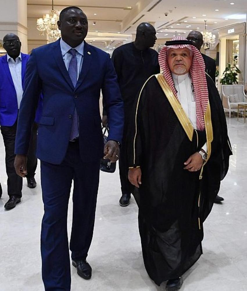 Foreign Minister of Republic of Gambia Mamadou Tangara arrived in Jeddah yesterday (Tuesday).