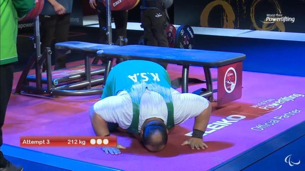 الرباع خالد الناجم يحل خامساً في البطولة الآسيوية محققاً أعلى رقم سعودي