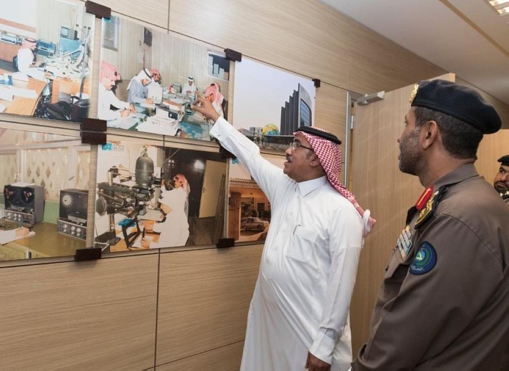 During the meeting, they discussed cooperation between the two parties as regards the safety of the building and its personnel.