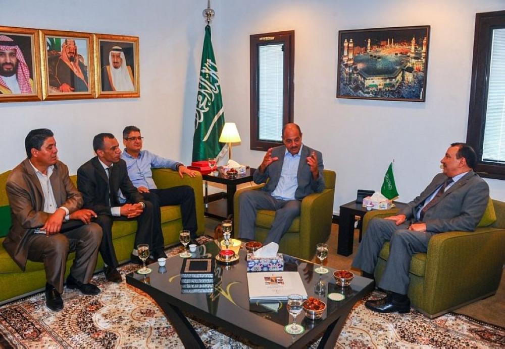 Saudi Ambassador to Tunisia Receives President of IOHR