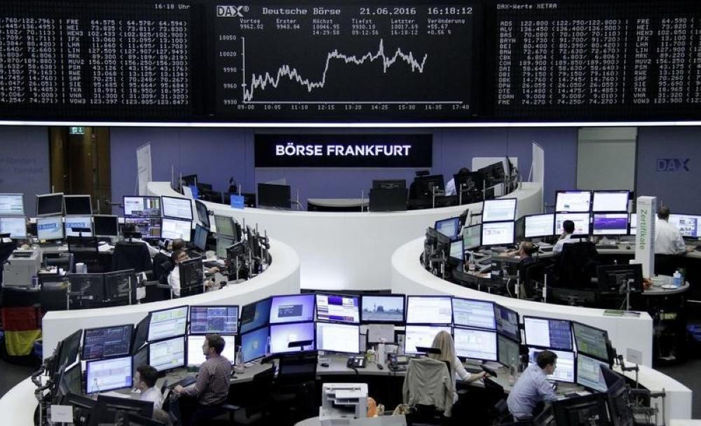 مباحثات التجارة وقطاع التكنولوجيا يقودان أسهم أوروبا للصعود