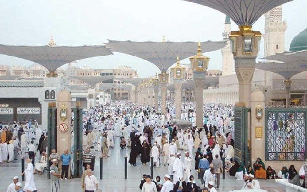 وصول 687 ألف حاج إلى المدينة المنورة بعد موسم الحج
