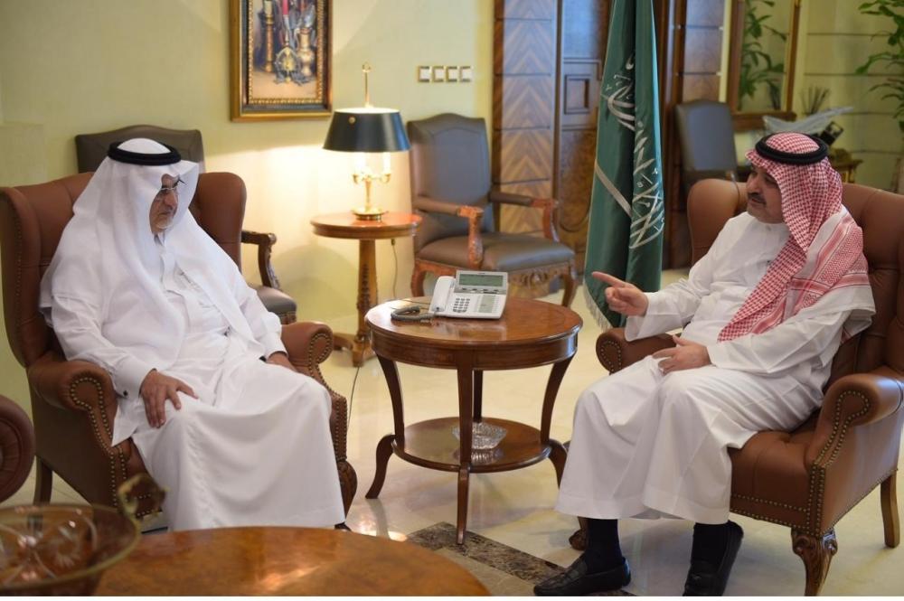 مشعل بن ماجد يستقبل رئيس وأعضاء «جمعية البر»