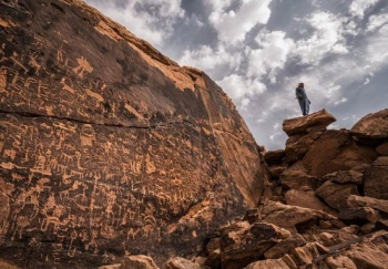 A joint Saudi-French mission to explore archaeological sites within Saudi international missions being supervised by the Saudi Commission for Tourism and National Heritage has revealed sites dating back to about 100,000 years in a number of mountains, south of Riyadh, specifically in Governorate of Al-Kharj.