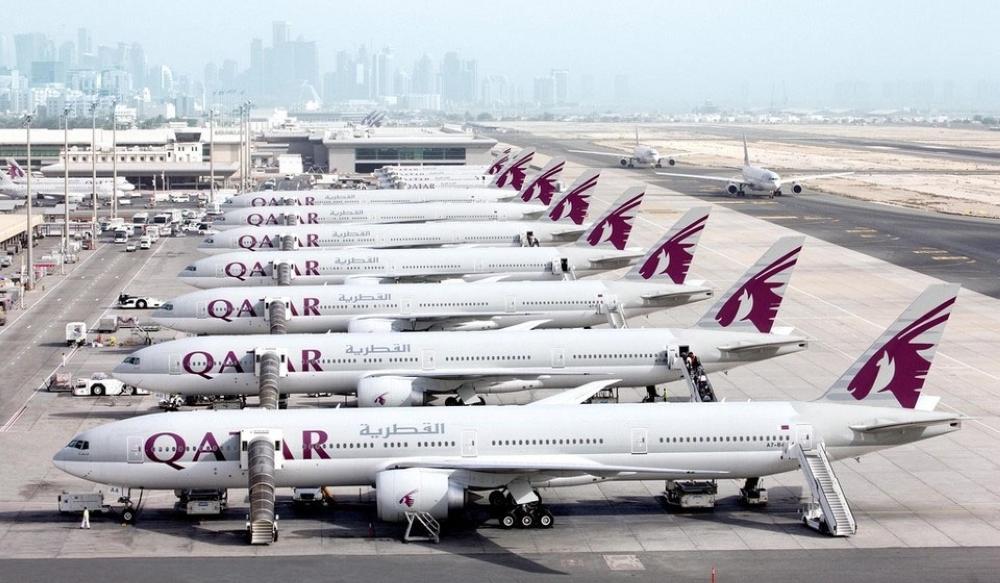 «الحمدين» يكلف «القطرية» خسائر تاريخية بـ«ربع مليار ريال» وإغلاق 18 وجهة