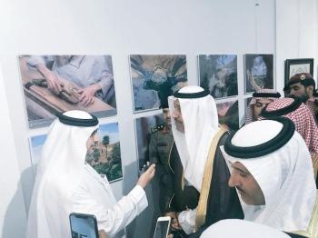 أمير الباحة متحدثاً للزميل الرباعي.