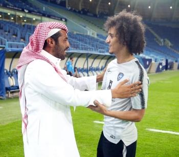 عمر عبدالرحمن مرحبا بالأمير محمد بن فيصل.