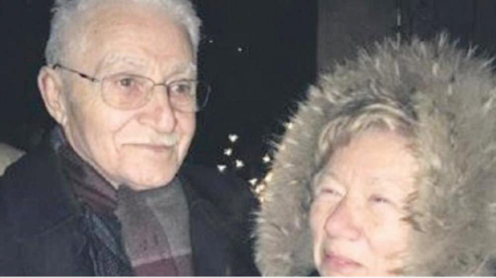 المسن وزوجته التي قتلها.