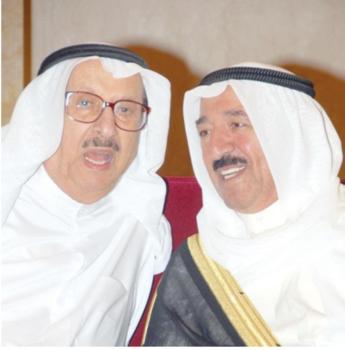 البحر مع أمير الكويت