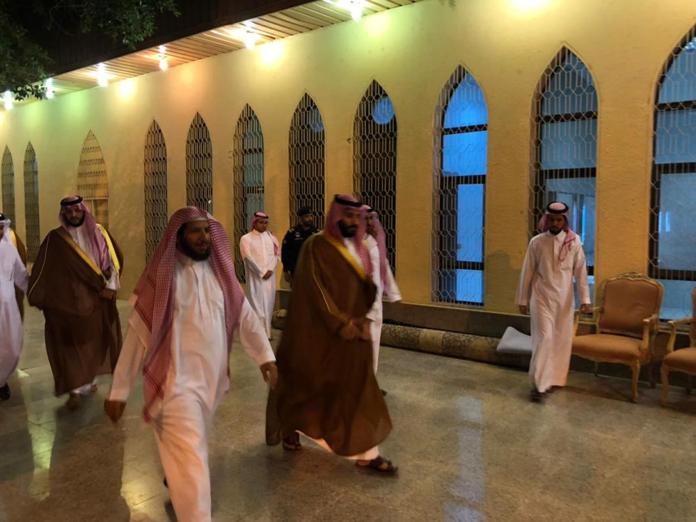 محمد بن سلمان يزور الشيخ الشثري في الطائف