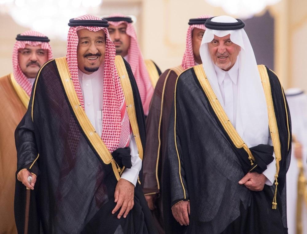 الأمراء جوار خادم الحرمين
