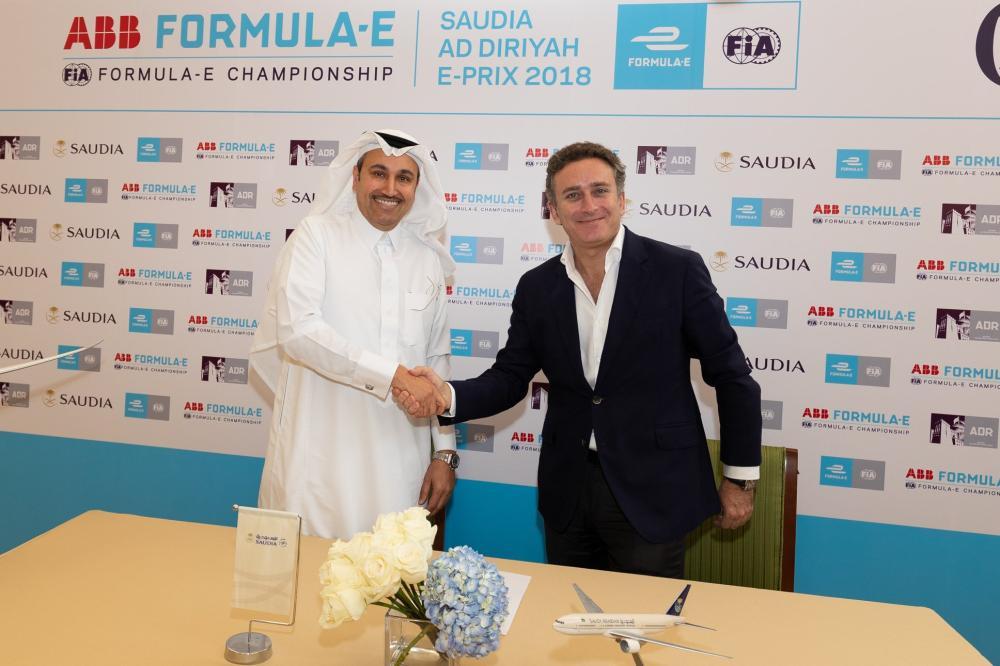 «فورميلا إي» تحلق في الموسم الخامس مع انضمام «السعودية» شريكا رسمياً