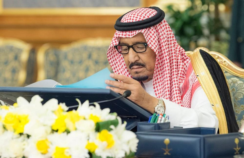 خادم الحرمين مترئسا مجلس الوزراء