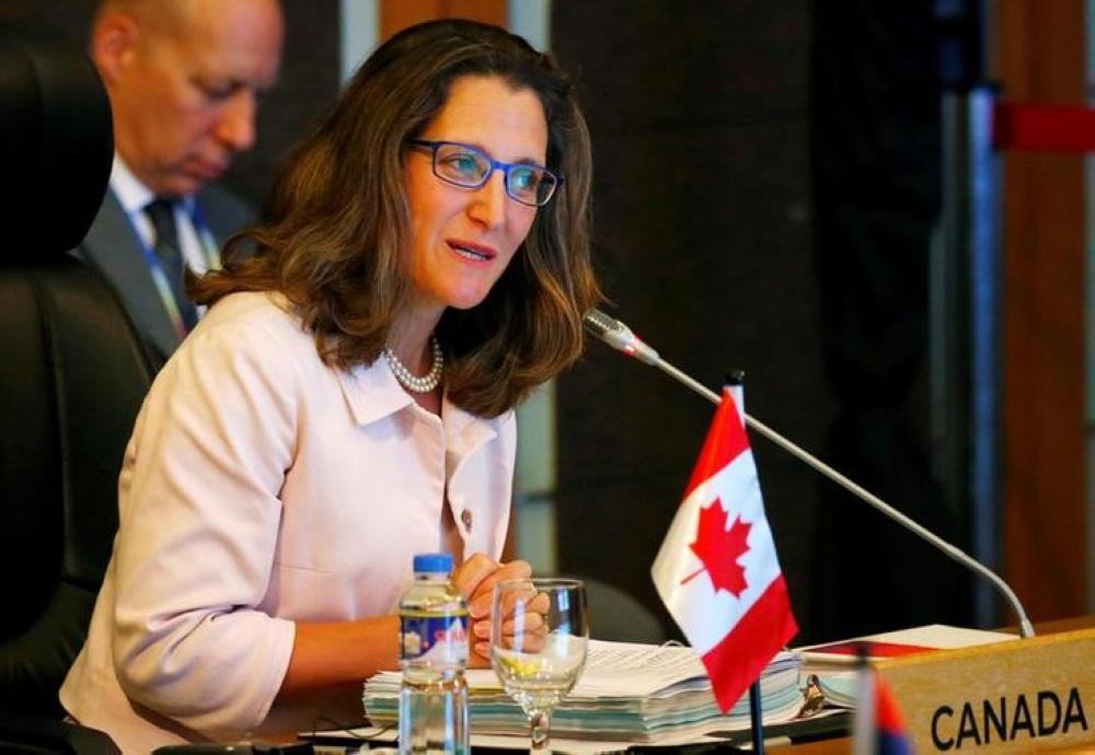 وزيرة خارجية كندا تأمل لقاء «الجبير» لبحث الخلاف الدبلوماسي