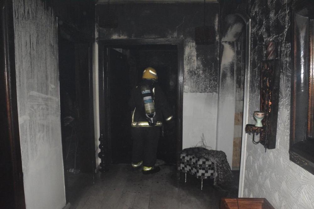 إصابة 4 في حريق الفجر شمال جدة