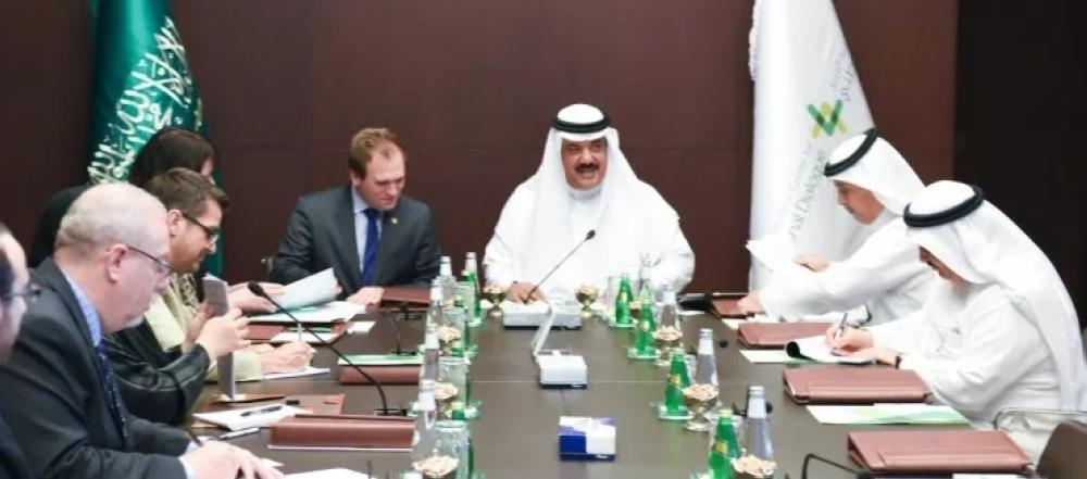 A delegation from United States Commission on International Religious Freedom has visited King Abdulaziz Center for National Dialogue in Riyadh, where they were received by the Secretary General of the Center, Dr. Abdullah Al-Fawzan.