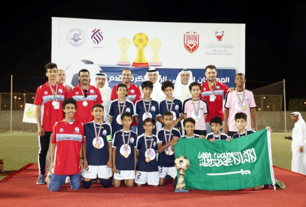 فريق نجوم 2030 يتوج بالمركز الأول في بطولة الخليج الدولية للبراعم في مملكة البحرين.