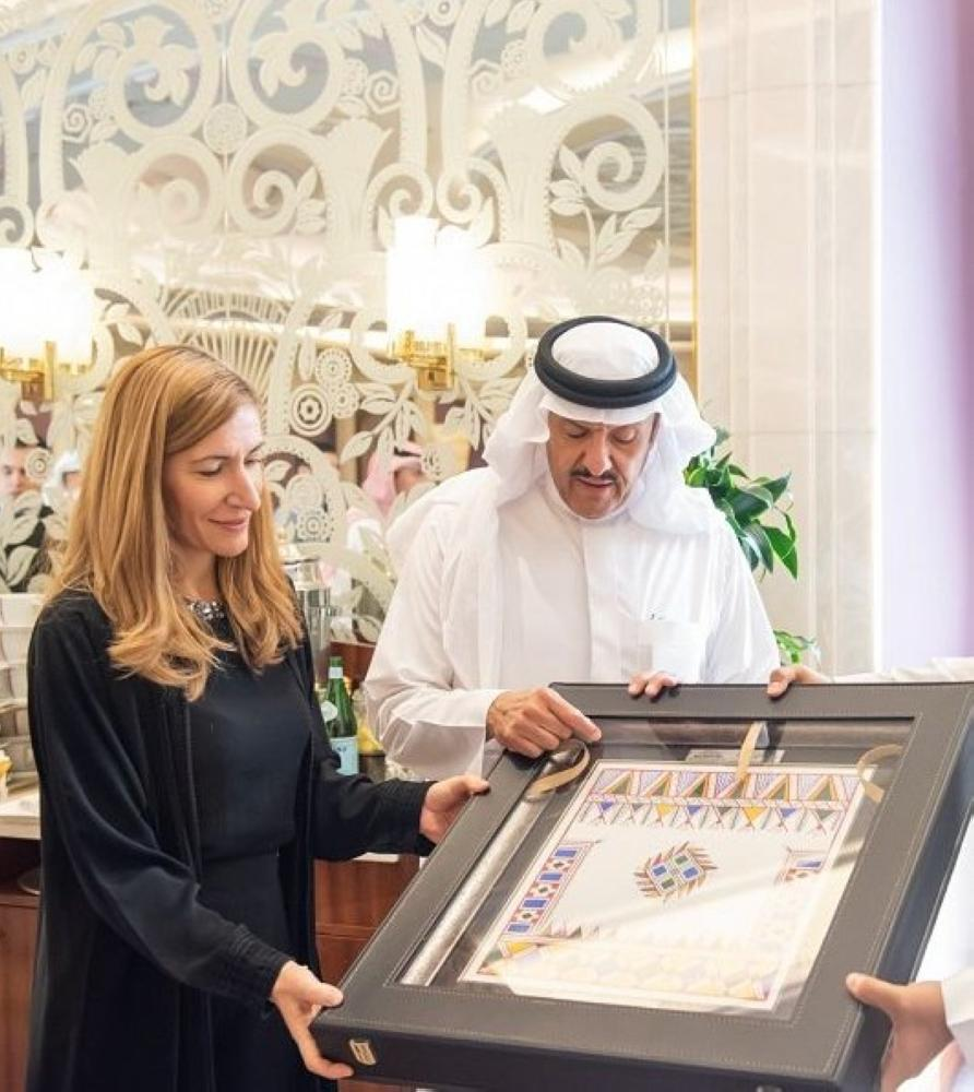Prince Sultan bin Salman bin Abdulaziz, President of Saudi Commission for Tourism and National Heritage (SCTH), received in Riyadh today (Wednesday) Bulgaria's Minister of Tourism Nikolina Angelkova, currently on an official visit to the Kingdom.