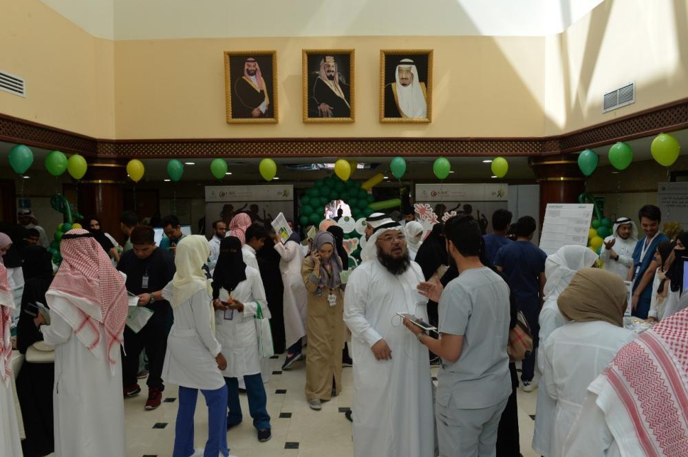 300 زائر في اليوم العالمي للصحة النفسية بـ«عبدالله الطبية»
