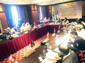 جانب من الاجتماعات التحضيرية لمؤتمر الوزراء العرب المسؤولين عن الشؤون الثقافية.