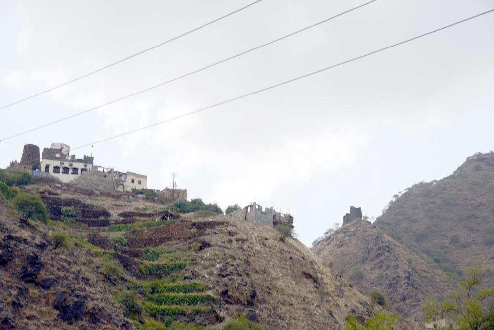 أمن وأمان في أعالي الجبال الحدودية.