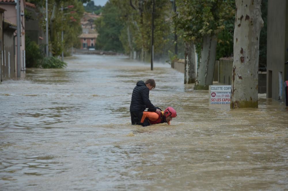 السيول تقتل 6 أشخاص بجنوب فرنسا