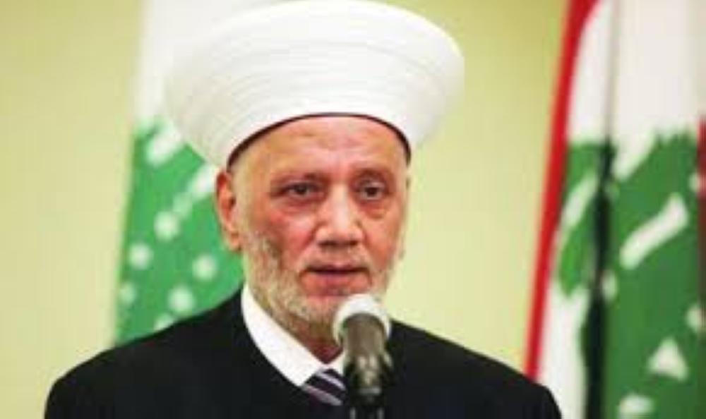 مفتي لبنان: حملة الابتزاز السياسي على المملكة فيها استفزاز وتحد لمشاعر مليار مسلم