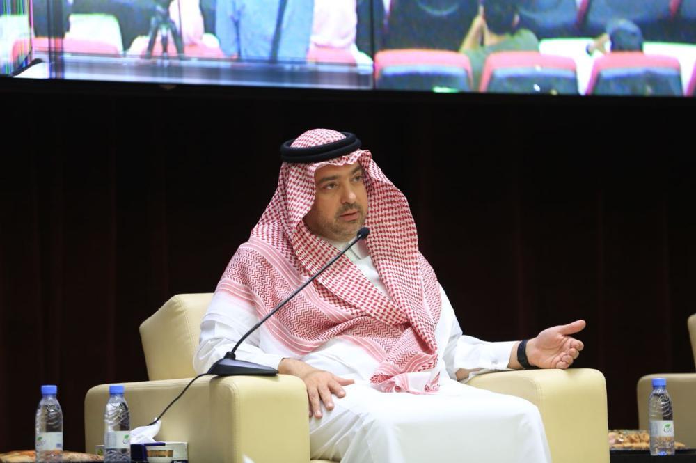 مدير الجامعة الإسلامية الدكتور حاتم بن حسن المرزوقي.