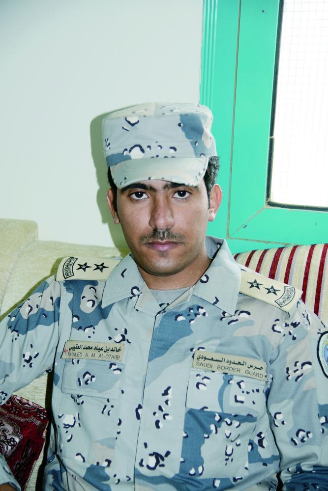 الملازم أول خالد العتيبي