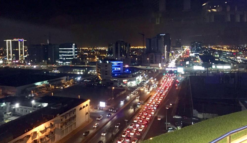 طريق الأمير محمد بن عبدالعزيز (التحلية) مع طريق المدينة.