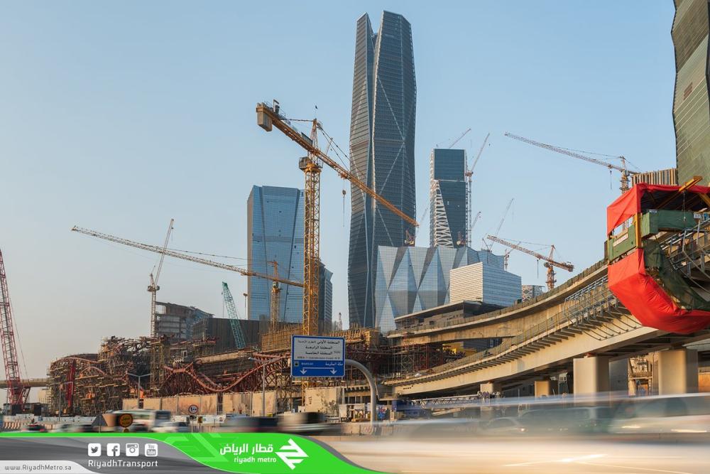 «قطار الرياض»: الانتهاء من تركيب الجسور الخرسانية بنسبة 100%