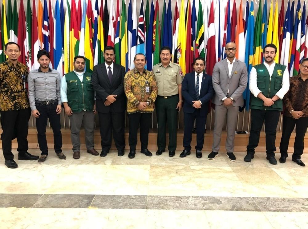A team from King Salman Humanitarian Aid and Relief Center (KSrelief) and a delegation from the Saudi Embassy in Jakarta met in Sulawesi today (Thursday) with Indonesian officials.