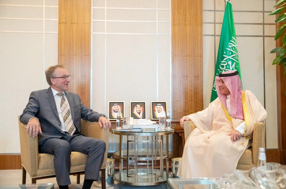 الجبير يستقبل سفير ألمانيا المعين لدى المملكة