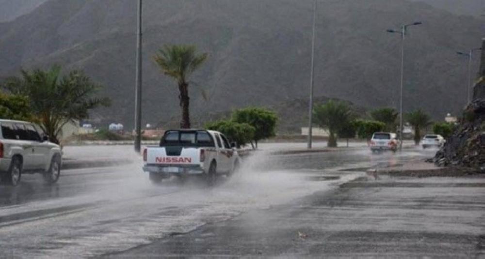 الطقس: أمطار رعدية على معظم مناطق المملكة