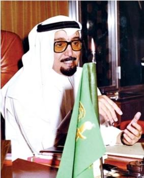العيسى خلال عمله سفيراً في البحرين.