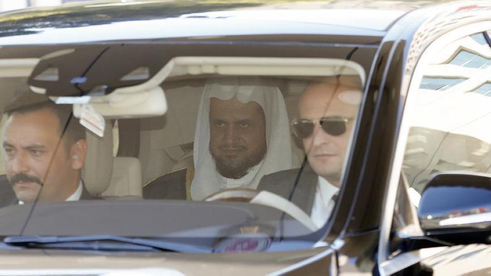 النائب العام السعودي سعود المعجب في إسطنبول أخيراً. (وكالة الأناضول)