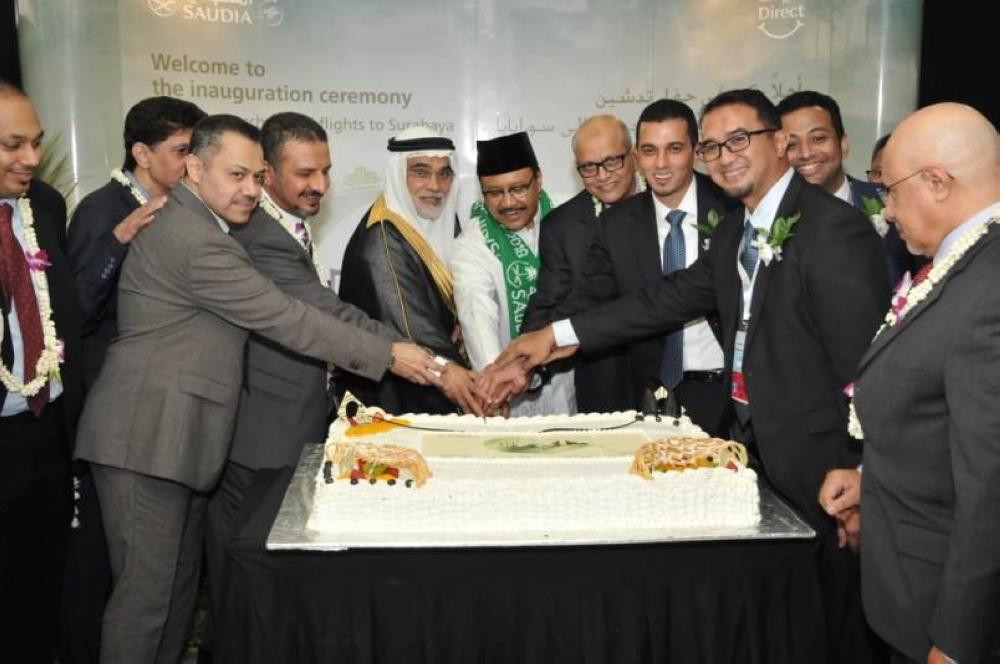 السفير السعودي في إندونيسبا مشاركا في الاحتفالية