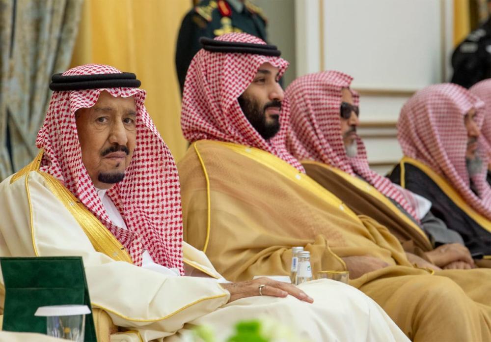 الملك وولي العهد في استقبال المواطنين